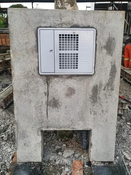 Mureta De Concreto Para Hidrômetro